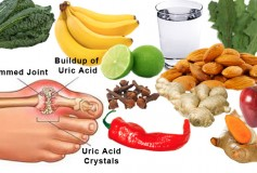 Fruits appropriate to reduce uric acid