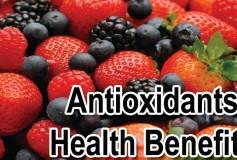 Benefits of antioxidant foods