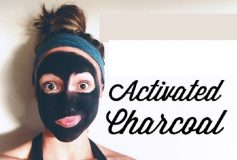 Black face mask – One of the best remedies for acne in the home