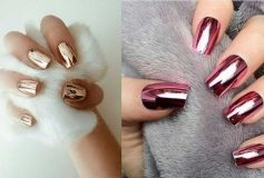 Nails designs in black and white